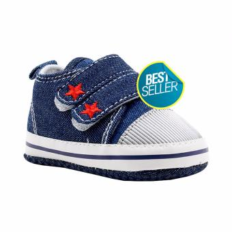 BABY STEPS Starr Baby Boy Shoes Sneakers (Blue) Price Philippines