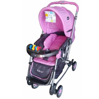 Baby 1st Stroller with Rocking Feature (Pink) Price Philippines