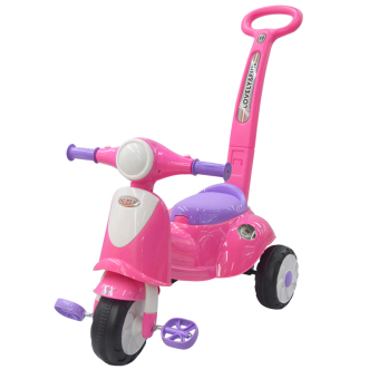 Harga MoonBaby Tricycle MB-223W (Pink)