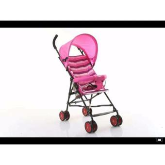New 2017 Hong Kong Fashion Foldable Stroller (Pink) Price Philippines