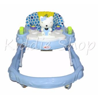 862-3 Kitty Musical Baby Walker (BLUE) Price Philippines