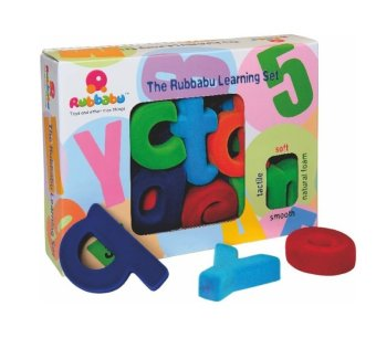 Rubbabu Alphabet Set Lower Case Small Non Magnetic (Multicolor) Price Philippines