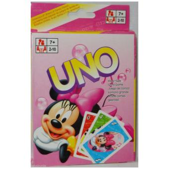 Harga Mickey Mouse Uno Card Game