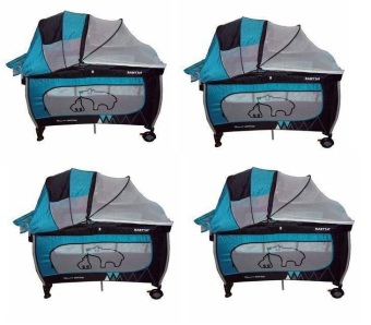 Baby 1st 3 in 1 Crib Dome Type with Rocking System (blue) Price Philippines