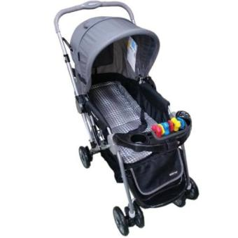 Baby 1st CD-S036B Stroller w/ Toy and Reversable Handle (Grey) Price Philippines