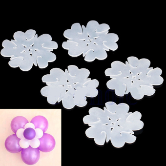 30Pcs Flower Balloons Plum Clip Tie Birthday Wedding Party Decor Supplier Price Philippines