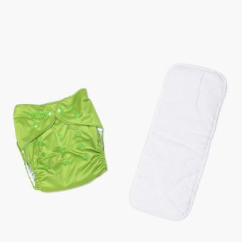 Belle & Coco Cloth Diaper (Light Green) Price Philippines