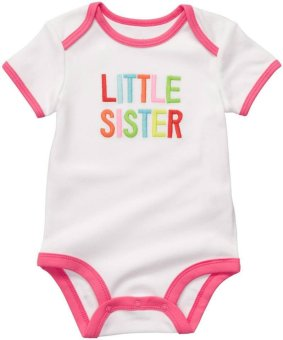 Harga Carter's Bodysuit - Little Sister