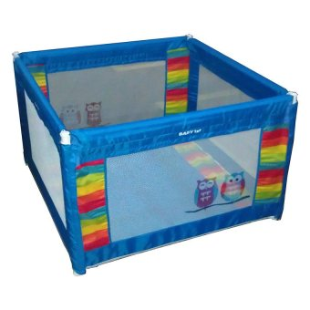 Baby 1st P-521D Baby Crib / Play pen (Blue) Price Philippines