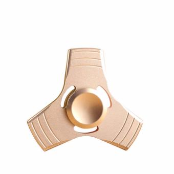 2017 Tri-Spinner Fidget Toys Pattern New EDC Hand Spinner Metal Fidget Spinner and ADHD Adults Children Educational Toys - intl Price Philippines