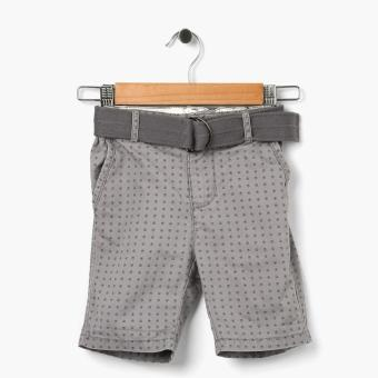 Just Jeans Boys Dotted Circles Chino Shorts (Gray) Price Philippines
