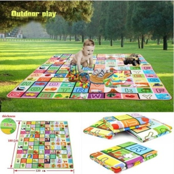 Candy Online Baby Crawling Mat Blanket Child Play Mats Camping Tent Mats Crawling Pad Waterproof (180cm x 120cm) Price Philippines