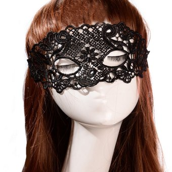 Women Sexy Lace Eye Mask Face Mask Black Price Philippines