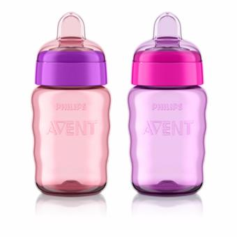 Philips Avent My Easy Sippy Cup, 9 Ounce, Pink/Purple Price Philippines