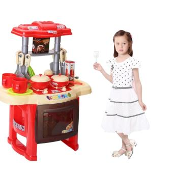 Harga lazada and USA best selling Kitchen Set (Red)