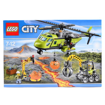 Harga LEGO Volcano Supply Helicopter 60123