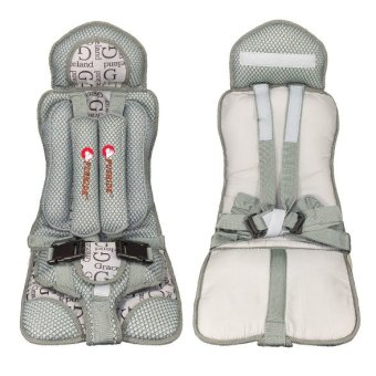 Harga High Quality Safety Infant Child Baby Car Seat Seats Secure Carrier Chair (Grey)