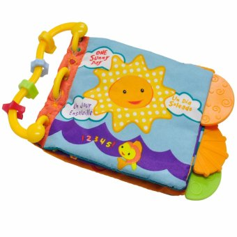 Harga Sunny Teether Cloth Book