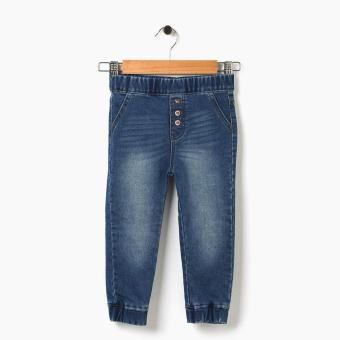 Harga Just Jeans Girls Buttoned Denim Jogger Pants (Blue)