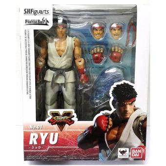 Harga Bandai 4549660051930 S.H.Figuarts Street Fighter V - Ryu Action Figure ORIGINAL*