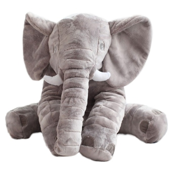 60cm Infant Soft Appease Elephant Playmate Calm Baby Elephant Pillow Plush Toys Gray Price Philippines