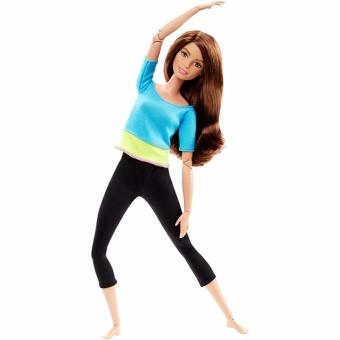 Barbie®Made to Move Barbie Doll, Blue Top Price Philippines