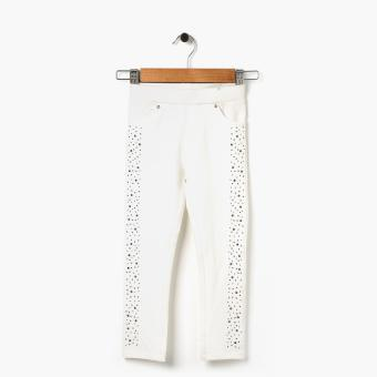 Just Jeans Girls Studded Jeggings (White) Price Philippines