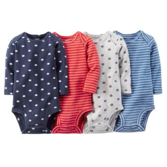Harga Carter's 4-pack Longsleeves Bodysuit