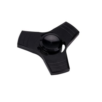 EDC Fidget Spinner High Speed Stainless Steel Bearing ADHD Focus Anxiety Toys Black - intl Price Philippines