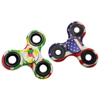 Harga Smart Fidget Hand Gyro Spinner 2pieces. (multicolor)