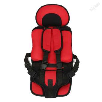 Harga Red Portable Child Kids Baby Car Protective Safety Secure SeatCarrier Chair Cushion - intl