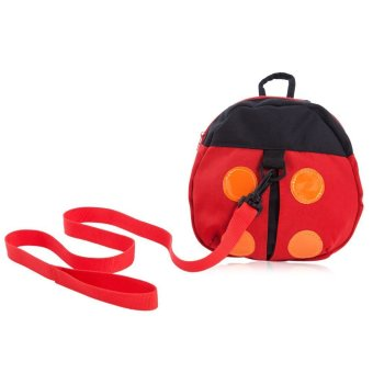 Cute Ladybird Babies Keeper Backpack Bag (RED) Price Philippines