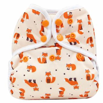 Asenappy Cloth Dipaer Covers Snap Leakproof Fox One Size Fit All Price Philippines