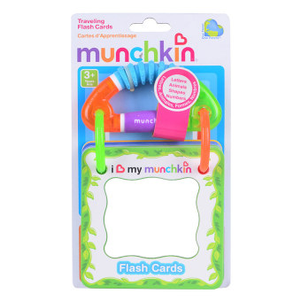 Munchkin Travelling Flash Cards (Multicolor) Price Philippines