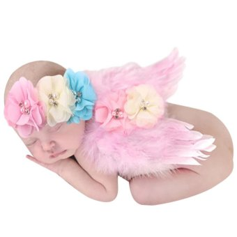 Baby Girls Angel Wings Wing Set Feather Newborn Photography Price Philippines