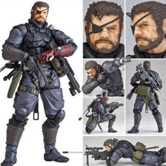 Harga Metal Gear Solid Venom Snake PVC Action Figure Gift Gifts Decoration Toys - intl