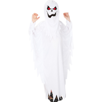 Harga EOZY Halloween Costumes Cosplay Scary White Ghost Costumes For Boys And Girls Children Role Playing Children Party Clothes (White) - Intl
