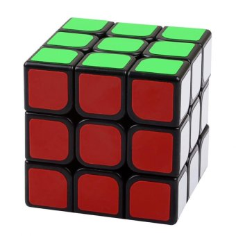 Harga Moyu Aolong V2 Speed Cube 3x3 Enhanced Edition Smooth Magic Cube Black