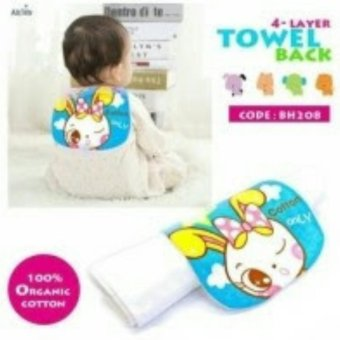 Harga Baby Absorbent Back Towel Rabbit