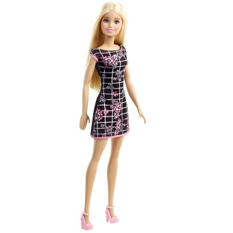 Barbie Patterned Dress with Rose Prints Doll Price Philippines