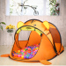 Indoor cartoon game toys house folding ball pool children's tent