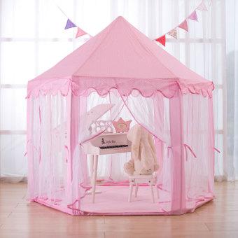 Indoor princess hexagonal toys house oversized children's tent