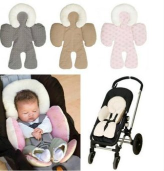 Infant Stroller Seat Cushion Mats with Baby Body Support - intl