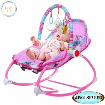Infant To Toddler Baby Rocker Pink