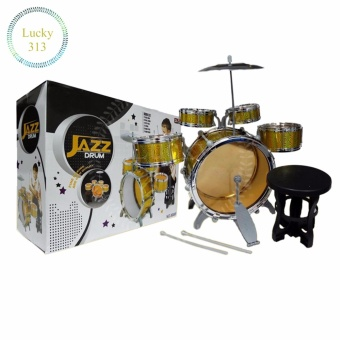 Kids Early Educational Toy Percussion Instrument Gift (JAZZ DRUM)