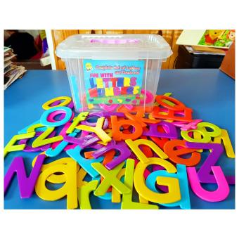 Jumbo Alphabet Letters and Numbers With Box - Educational Toy