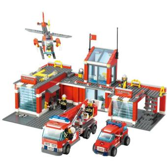 KAZI fire series small particles assembled building blocks