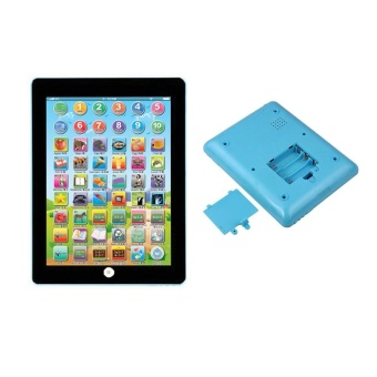Kids Children Tablet IPAD Educational Learning Toys Gift For Girls Boys Baby Blue - intl Price Philippines