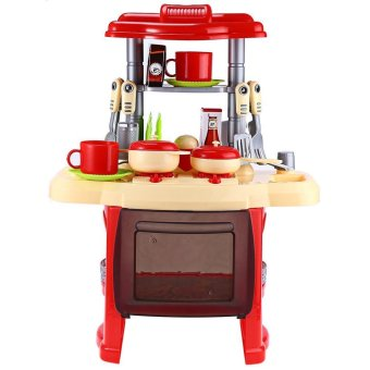 Kids Kitchen Cooking Toy Set For Role Play