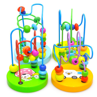Kids' Early Childhood Education Wooden Bead Maze